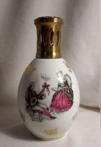 Details Sur Lampe Berger Ancienne C Tharaud Tp Porcelaine Limoges Scenes Galantes Musicien
