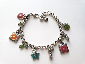 Love Flower Colorful Charm Bracelet