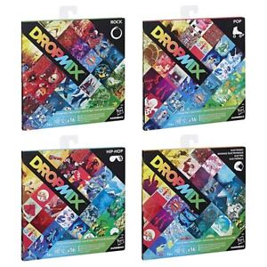 New-Dropmix-Rock-Pop-Hip-Hop-Or-Electronic-Playlist-Card-Pack-Hasbro-Official