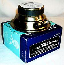 """Radio Shack Vintage Full-Range 5"""" Speaker New In Box (NOS)"""