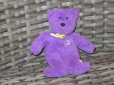 McDONALD/'S TY BEANIE BABIES GRIMACE THE BEAR #12 MIP SEALED PLUSH TOY 25TH