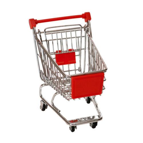 Stiftehalter Einkaufswagen in rot Stifthalter Stifteständer Stifteköcher