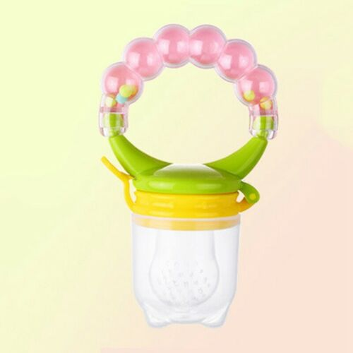 Baby Feeding Pacifier Fresh Food Fruit Feeder Infant Dummy Soother Nipple .Lep