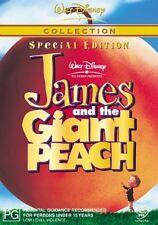 JAMES And The GIANT PEACH (DVD Movie Walt Disney Region 4) Tim Burton