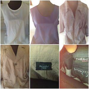 Kleider Paket Oberteile Grösse 52 Damen  eBay