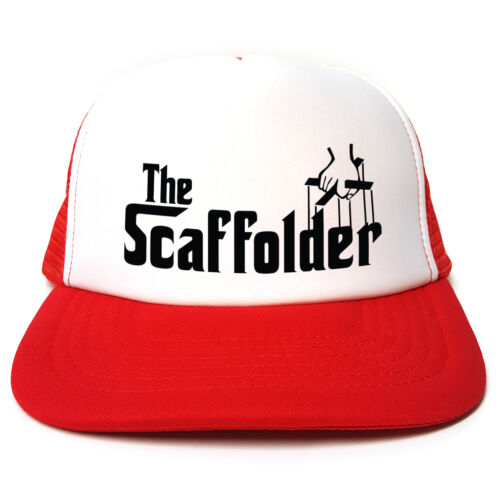 Colours Retro Snapback The black Funny Spoof red Godfather Blue Trucker 3 Scaffolder Cap I4wSz