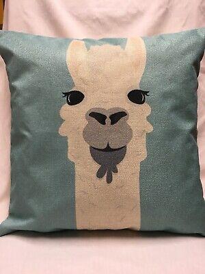 18 Inch Diva Llama Pillow Case//zipper closure //Home Décor//Llama//Alpaca//Diva