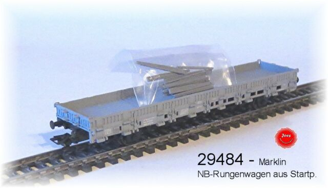 DE MÄRKLIN 29484 Ein WAGON PLAT TYPE DE CONSTRUCTION KS Le SBB