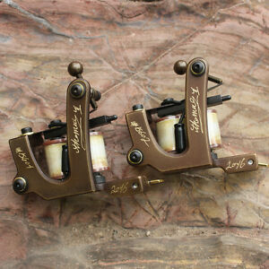 Tattoo machine tattoo gun brass frame set liner and shader for Tattoo gun parts