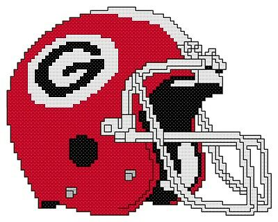 Free US Shipping Denver Broncos Logo Counted Cross Stitch Pattern