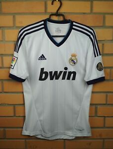 Real Madrid jersey SMALL 2012 2013 home shirt X21987 soccer football ... 66b54ff2b