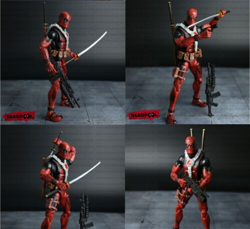 DEADPOOL Figura de Acción totalmente articulada Deadpool 17 cm