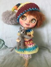 OOAK CUSTOM BLYTHE Art Doll By Vickys Collectibles