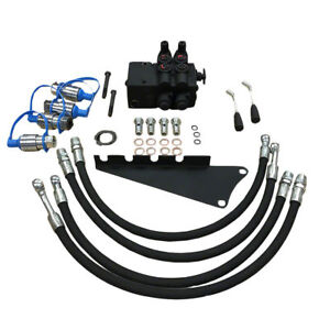 Dual-Hydraulic-Remote-Valve-Kit-For-Massey-Ferguson-180-175-165-150-135-65-35