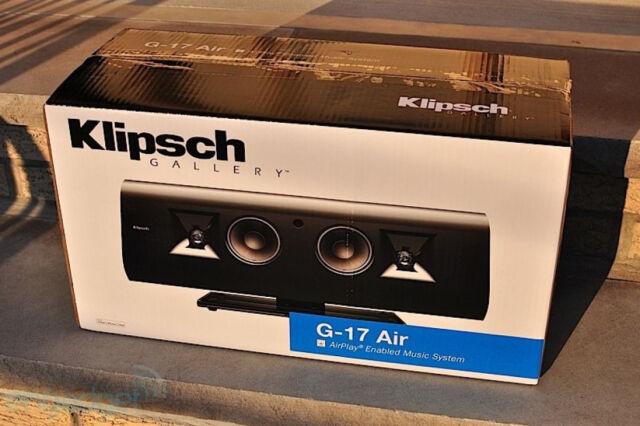 Klipsch Gallery G-17 Air Sound Bar Brand New in Box