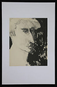 Gabriel-Zendel-1906-1992-Portraet-Born-Je-ov-Schule-De-Paris-Montmartre-Ungarn