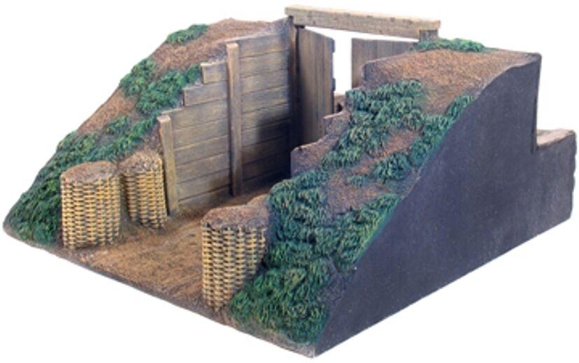 BRITAINS DIORAMA ACCESSORIES 51010 REDOUBT SECTION GATE MIB