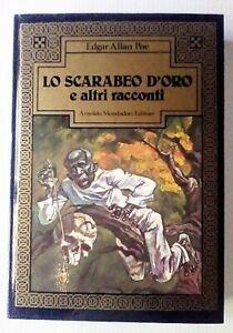 LO-SCARABEO-D-039-ORO-e-altri-racconti-di-E-A-POE-MONDADORI-1984-SUPERPREZZO
