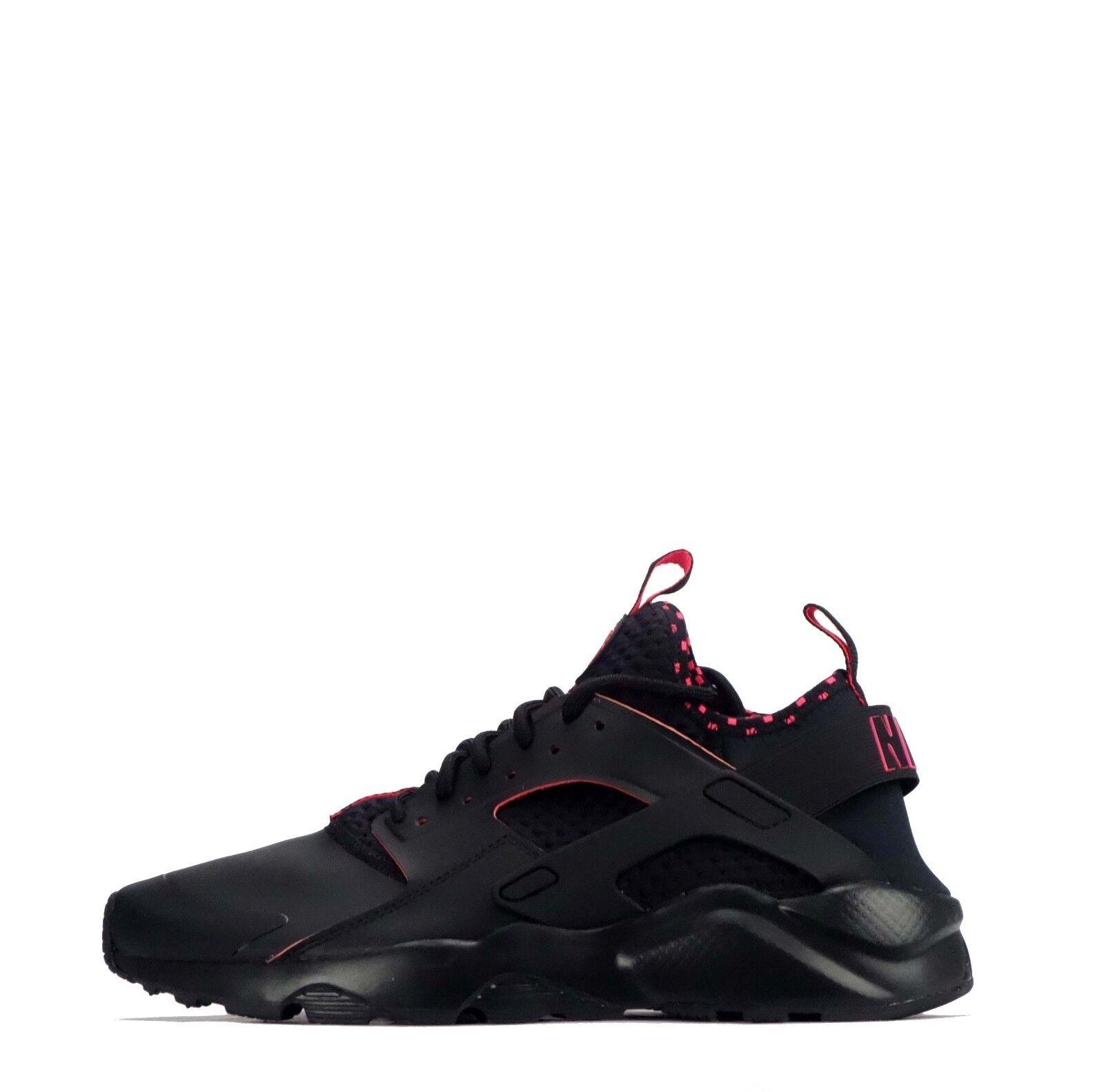 Nike air huarache correre ultra ultra ultra se Uomo formatori nero / rosso solare e8a3a2