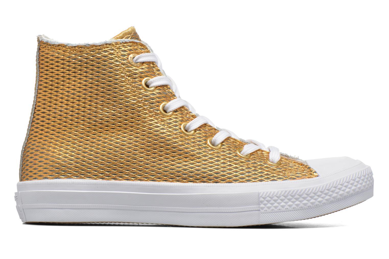Damen Hi Converse Chuck Taylor All Star Ii Hi Damen Perf Metallic Leder Sneaker 7aae4f