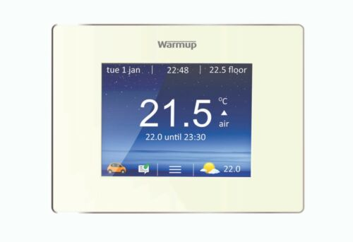 Warm-up 4iE Smart Wifi Thermostat-Bright porcelaine