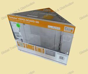 Image Is Loading Schluter Systems KERDI BOARD SB Triangular Shower Bench