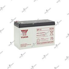 Batterie plomb étanche YUASA NP7-12 12V 7AH 151X65X97.5mm Top qualité livraison