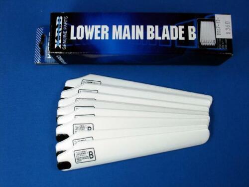 4 0301-002 Hirobo XRB Lower Main Blade Set B NEUF