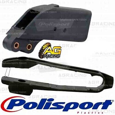 Polisport Black Chain Guide /& Slider Kit For KTM SX 1998-2006 EXC 1998-2007