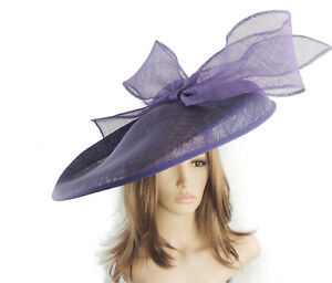 Dark-Purple-Large-Ascot-Hat-for-Weddings-Ascot-Derby-B7