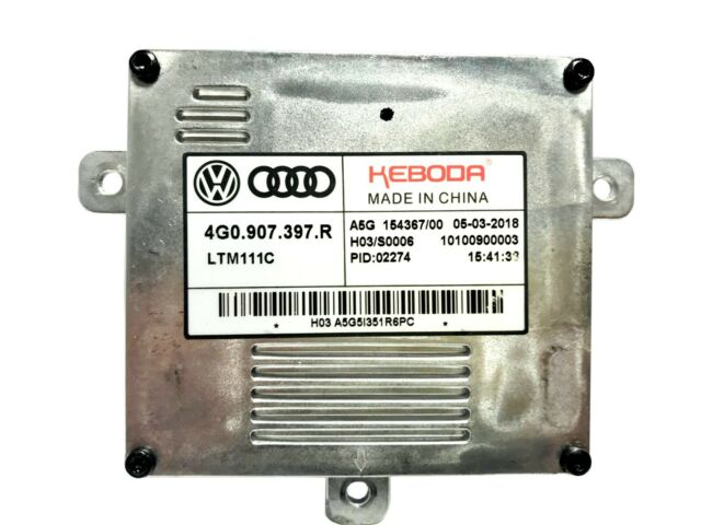 LED Xenon Centralina Zavorra Originale 4G0907397R Audi A1 A3 8V A4 B8 8K