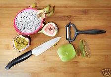 set coltello in ceramica kyocera fk110 wh + pelapatate omaggio