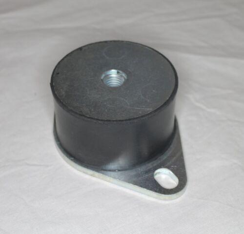Gummipuffer 75x45mm M12 mit Bodenplatte Gummi Metall Puffer Silentblock Dämpfer