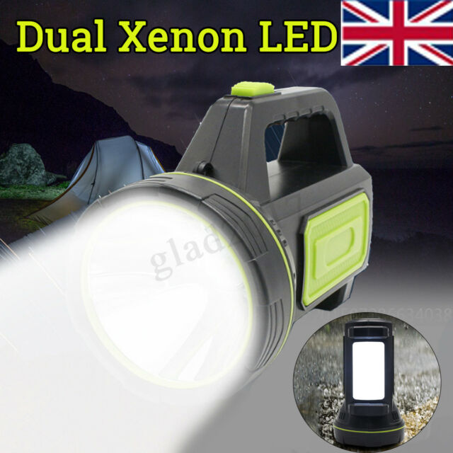 Candle 135000lm Rechargeable Torch 220v Xenon Hand Led Work Light Lamp Spotlight 80OmnvNw