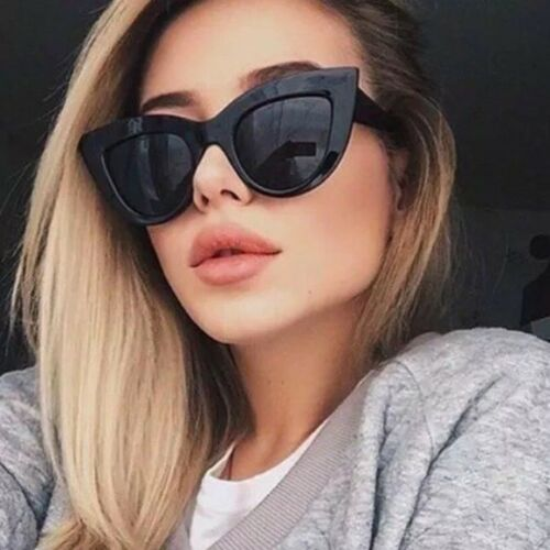 Women Sunglasses CAT EYE Kittikat Miss Kitty FELINE RETRO VINTAGE Shadz GAFAS