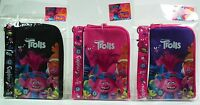 3pc Set Dreamworks Trolls Lanyard Cell Phone Id Holder Case Coin Purse Badge