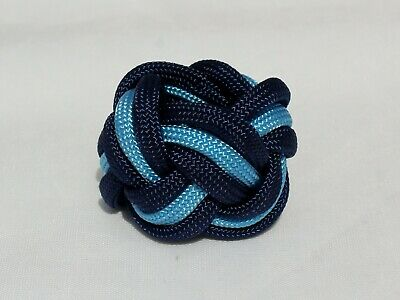 Cubs Leather Woggle Blue