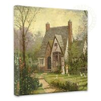 Thomas Kinkade The Cottage 14 X 14 Gallery Wrapped Canvas