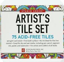 Studio Series Artist's Tiles: White (75 Pack) (2014, Kit)