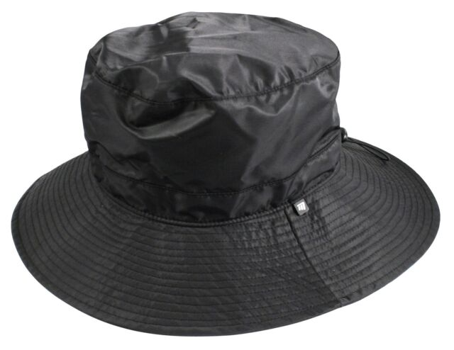 Masters Shaped Waterproof Golf Bucket Hat With A Wide Brim And Long Tail c4da4585a63