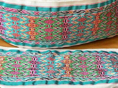 laverslace Red /& Green Daisy Woven Jacquard Braid Ribbon Trim 12mm Sewing Crafts