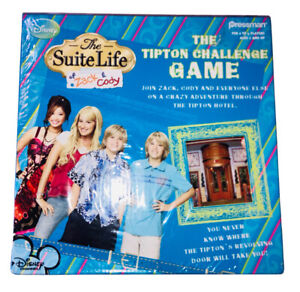 The-Suite-Life-of-Zack-amp-Cody-The-Tipton-Challenge-Game-2007-New-Sealed-Box