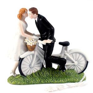 Tortenfigur Fahrrad A Kiss Of Bicycl Tortendeko Hochzeitstorte
