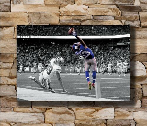 Hot Odell Beckham Jr One Hand Catch Football Sports OBJ New Art Poster T-659