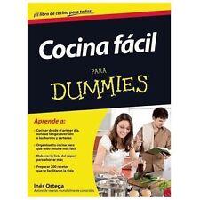 Cocina facil para Dummies (Spanish Edition)