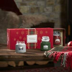 Yankee Candle Set 3 Candele Profumate Giara Piccola Confezione