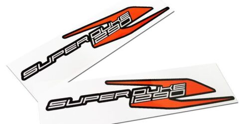 Motorcycle decals graphics,STICKERS x 2 Superduke1290r Grey,Orange,Black