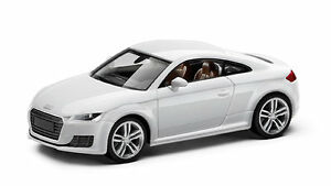 audi tt coupe modellauto 1 87 herpa gletscherwei wei. Black Bedroom Furniture Sets. Home Design Ideas