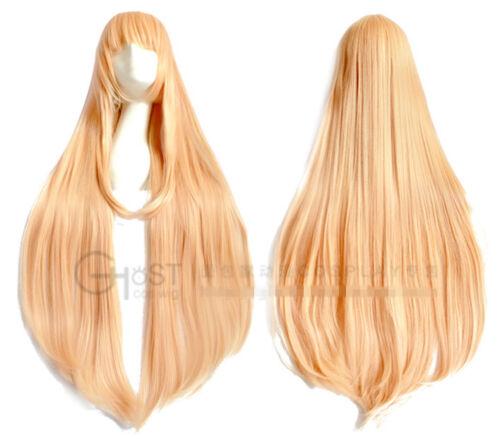 Himouto Umaru-chan Doma Umaru Perücke wig blond gold lang long 1m 100cm