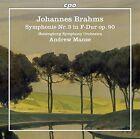 Brahms / Helsingborg Symphony Orchestra / Manze - Symphony No. 3 [New Vinyl LP]